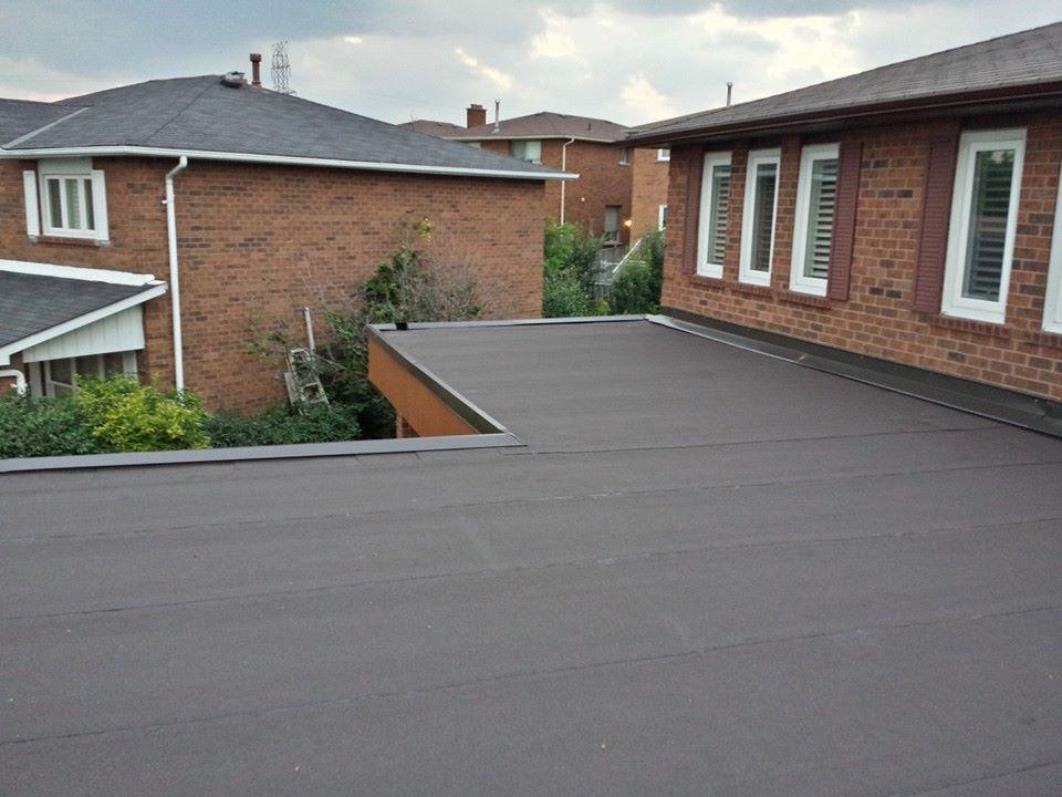 Residential Flat Roofing, Oakville